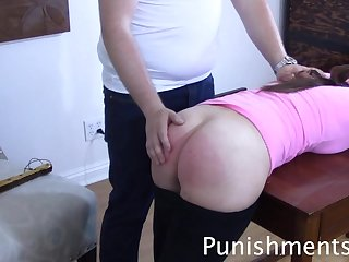 spanking to tears - Babe roughly college