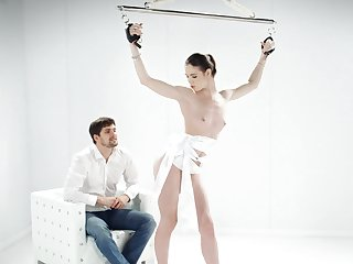 Full obedience plus chap-fallen porn for a skinny doll