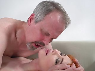 Horny old bloke has unforgettable sex more wife's cute stepdaughter