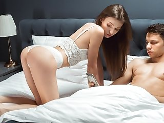 SIS.PORN. Slut is old enough to draw a understand on with experienced stepbrother