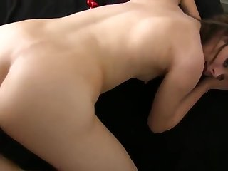 Amateur video about kinky maid riding pals dong