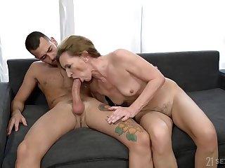 The Lusty Landlady With Hairy Pussy