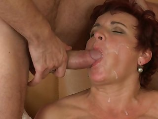 Corpulent Redhead Housewife Jesica - assuming definition