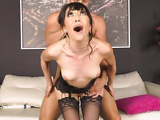 housewife In Sultry Lingerie Humped By Interesting Man